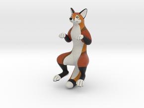 PlushLife Red Fox 2017 in Natural Full Color Sandstone