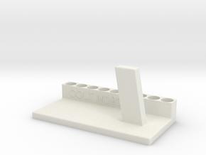 COLT M1911 CO2 SOFTAIR GUN SUPPORT in White Natural Versatile Plastic