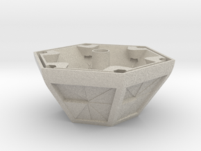AM plant pot in Natural Sandstone