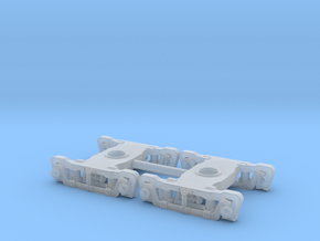 N Scale ATSF EXPRESS TRUCK UPDATE in Smooth Fine Detail Plastic