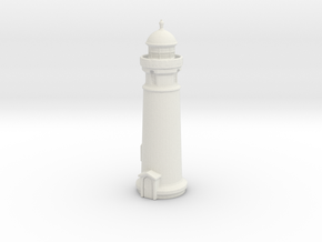 Lighthouse (round) 1/350 in White Natural Versatile Plastic