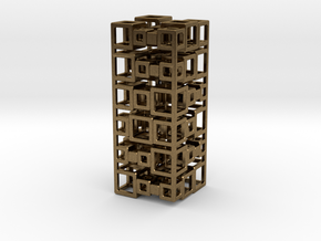 Stack Of 2x3 (large) in Natural Bronze