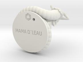 MAMA_D ' LEAU_69.12mm in White Natural Versatile Plastic