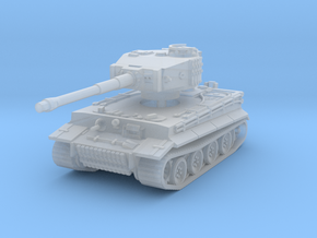 Tiger I mid 1/220 in Smooth Fine Detail Plastic