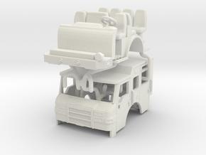 1/87 Pierce Velocity PUC Cab V3 in White Natural Versatile Plastic