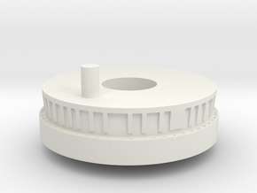 34ab-Docking system-Docked with LM in White Natural Versatile Plastic