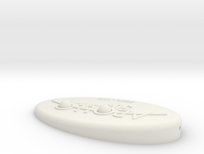 Stand 2 in White Natural Versatile Plastic