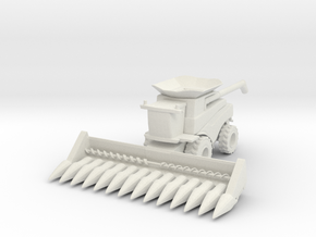 J.D. T Combine Harvester 1/72 in White Natural Versatile Plastic