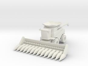 J.D. T Combine Harvester 1/144 in White Natural Versatile Plastic