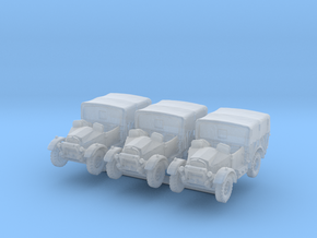 Morris CS8 (open) covered (x3) 1/285 in Smooth Fine Detail Plastic