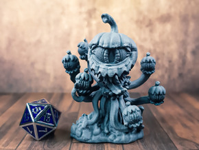 Pumpkin Eye Terror - Magic User Monster - D&D in Gray PA12