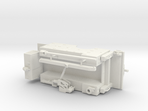 1/64th Basic Service Truck Bed in White Natural Versatile Plastic
