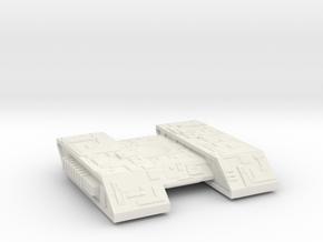 Borg Assimilator in White Natural Versatile Plastic