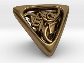 Tengwar Elvish D4 in Natural Bronze