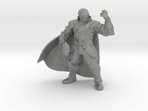 Ganondorf 41mm miniature fantasy games and rpg in Gray PA12