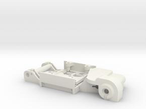 Nissan Skyline LB Slotcar BRM Camber System in White Natural Versatile Plastic