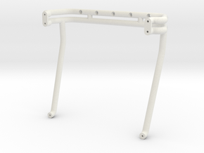 BIGFOOT 6 roll bar for 0433 body in White Natural Versatile Plastic