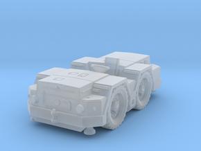 Kamaz 39131 deck tractor 10 ton in Smoothest Fine Detail Plastic: 1:100