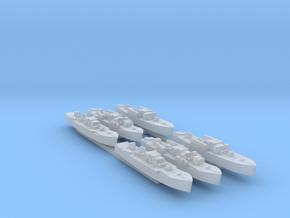 6pk Fairmile D MTB MGBs WW2 1:700 in Smooth Fine Detail Plastic