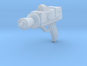 TIE Pilot Retro pistol blaster in Smooth Fine Detail Plastic