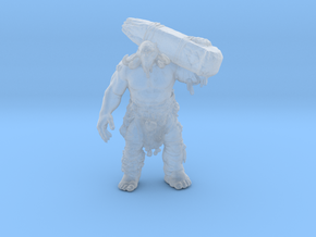 GOW Fire Troll 62mm miniature monster fantasy dnd in Smooth Fine Detail Plastic
