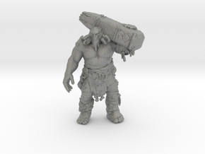 GOW Fire Troll 62mm miniature monster fantasy dnd in Gray PA12