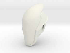 1:6 assassin helmet upsized. in White Natural Versatile Plastic