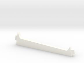 Stand piqué in White Processed Versatile Plastic