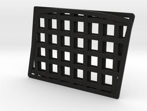 Window Nets for Losi Lasernut in Black Natural Versatile Plastic