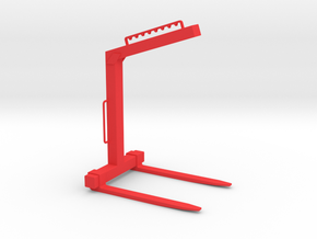 Krangabel für Ladekran in 1:18 in Red Processed Versatile Plastic