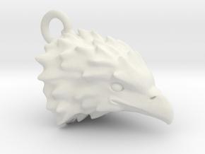 Eagle head 2011171924 in White Natural Versatile Plastic