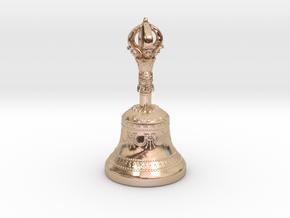 Miniature Dilbu (Bell) in 14k Rose Gold