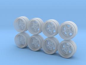 Impul R5 8-5 Hot Wheels Rims in Smooth Fine Detail Plastic