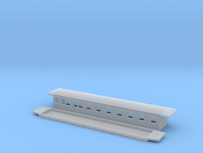 BCo5 - Swedish passenger wagon in Smooth Fine Detail Plastic