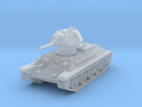 T-34-76 1940 fact. 183 mid 1/144 in Smooth Fine Detail Plastic