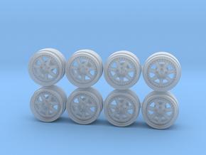 Mugen M7 Hot Wheels Rims in Smooth Fine Detail Plastic