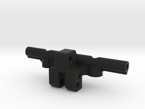 Link Riser w Sway Bar Mount for AR60 in Black Natural Versatile Plastic