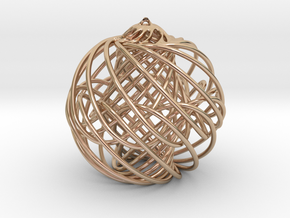 Christmas Ornament in 14k Rose Gold