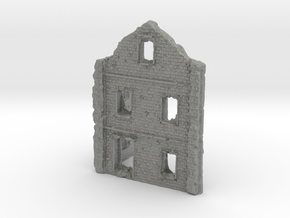 1/144 Tall Building Ruin in Gray PA12