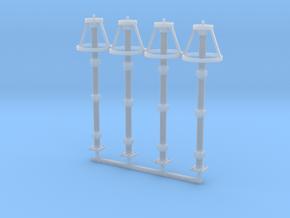 Lighting Arrestor Ver01. 1:87 Scale x4 in Smooth Fine Detail Plastic