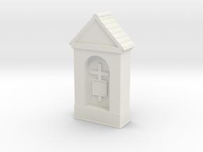 Small Chapel 1/64 in White Natural Versatile Plastic