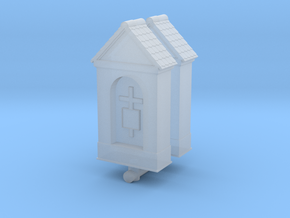 Small Chapel (x2) 1/144 in Smooth Fine Detail Plastic