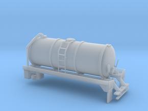 1/87th Liquid Manure Fertilizer tanker body in Smooth Fine Detail Plastic