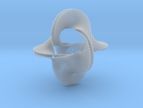 Honeycomb-borromean-surface in Smooth Fine Detail Plastic