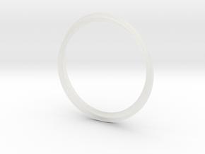 Infinity Bracelet in Smooth Fine Detail Plastic