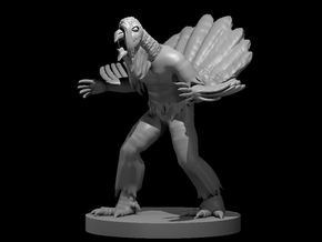 Wereturkey in Smooth Fine Detail Plastic