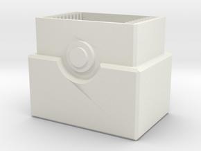 Pokemon Top Loader Base (10 Cards) in White Natural Versatile Plastic