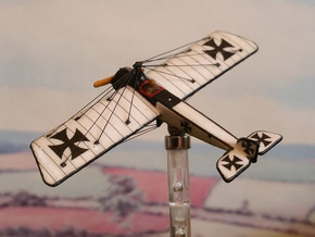 Pfalz E.II (various scales) in White Natural Versatile Plastic: 1:144