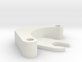 elbow_bearing_outside_pot_brack in White Natural Versatile Plastic