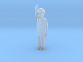 Capsule HH Worker Arm Up 4 R in Smooth Fine Detail Plastic